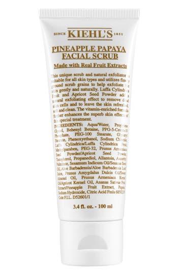 Kiehl's Since 1851 Pineapple Papaya Facial Scrub, Size 3.4 oz