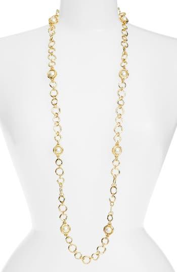 Women's Karine Sultan Long Imitation Pearl Necklace