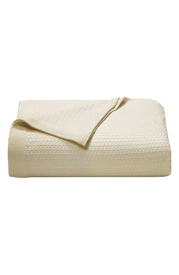 Nautica 'Baird' Cotton Blanket, Size Twin - Ivory