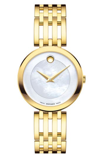 Women's Movado 'Esperanza' Bracelet Watch, 28Mm