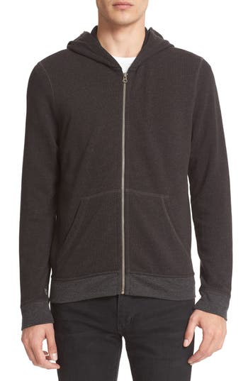 Men's Atm Anthony Thomas Melillo French Terry Full Zip Hoodie