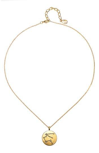 Women's Sequin Celestial Pendant Necklace