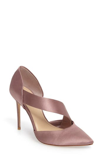 Imagine By Vince Camuto Oya Asymmetrical Pointy Toe Pump- Pink