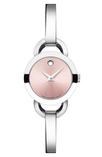 Women's Movado 'Rondiro' Small Round Bangle Watch, 22Mm