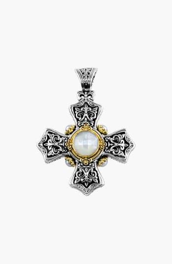 Women's Konstantino 'Selene' Maltese Cross Pendant