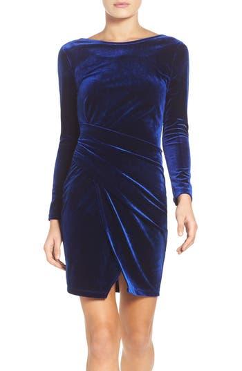 Women's Fraiche By J Velvet Body-Con Dress
