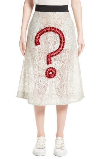 Women's Tu Es Mon Tresor Not Lace Skirt