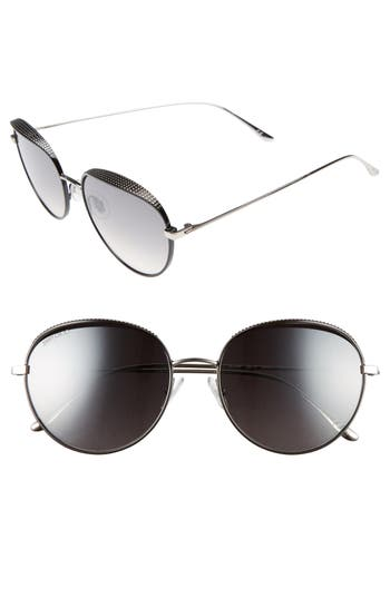 Women's Jimmy Choo Ello 56Mm Round Sunglasses -