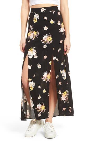Women's Love, Fire Coordinating Floral Maxi Skirt