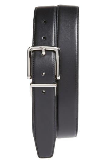 Cole Haan Reversible Leather Belt, Black/ Brown
