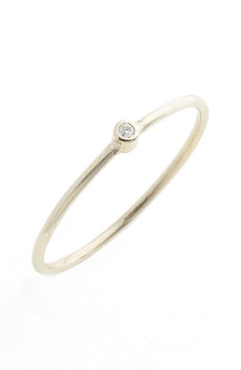 Women's Zoë Chicco Diamond Bezel Ring