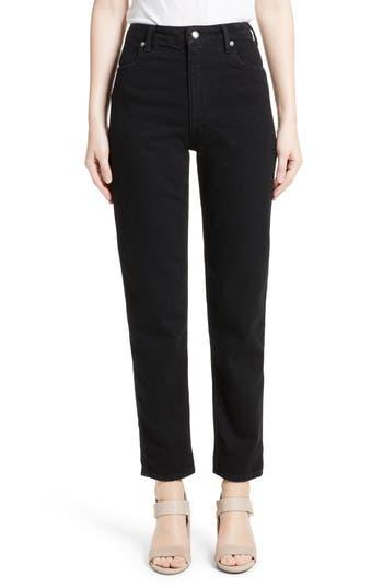 Women's Eckhaus Latta Crop Straight Leg Jeans