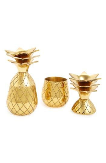 W & p Design Pineapple Shot Glasses