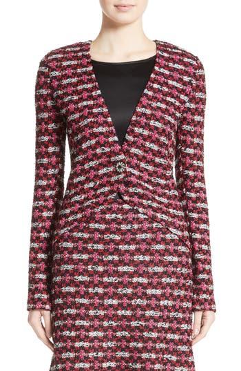 Women's St. John Collection Hiran Tweed Knit Jacket