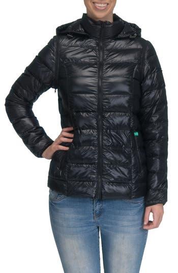 Women's Modern Eternity LightweightPuffer Convertible Maternity Jacket