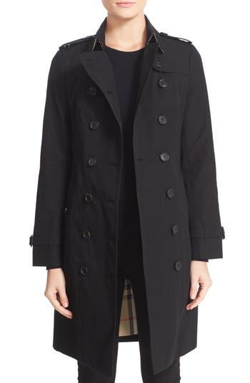 Women's Burberry Sandringham Long Slim Trench Coat