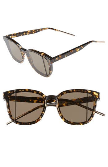 Women's Dior Dior Steps 55Mm Sunglasses - Spotted Havana