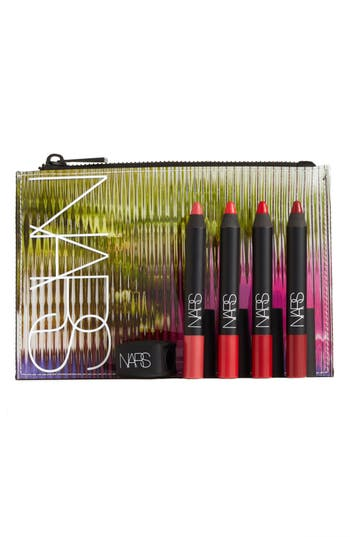 Nars Velvet Matte Lipstick Pencil Set - Mustang (Bold)