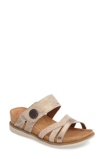 Comfortiva Lexa Slide Sandal- Grey