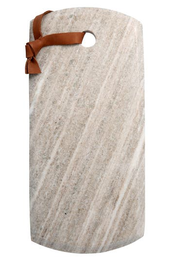 Thirstystone Rectangular Marble Serving Board, Size One Size - Brown