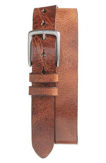 Big & Tall Torino Belts Leather Belt, Honey