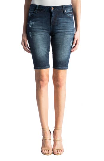 Bobbi Denim Bermuda Shorts
