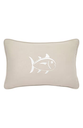 Southern Tide Skipjack Fish Accent Pillow, Size One Size - Beige