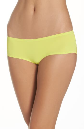 Women's Free People Intimately Fp Smooth Hipster Panties, Size Large - Yellow