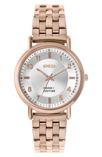 Breda Blossom Round Bracelet Watch, 41Mm