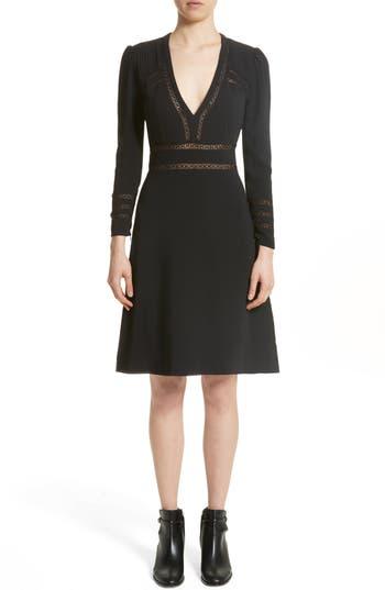 Burberry Fran Dress, Black