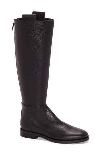 Women's Mercedes Castillo Baxter Riding Boot, Size 5.5 M - Black