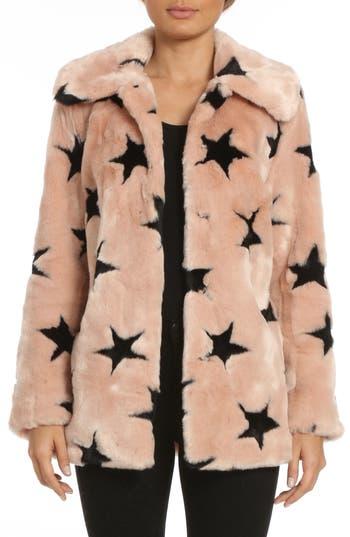Women's Avec Les Filles Faux Fur Swing Coat