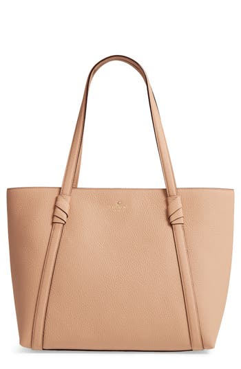 Kate Spade New York Daniels Drive - Cherie Leather Tote - Brown