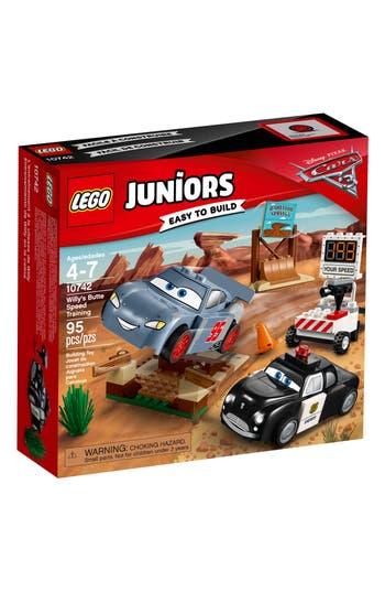 Boy's Lego Juniors Disney-Pixar Cars 3(TM) Willy'S Butte Speed Training Play Set - 10742
