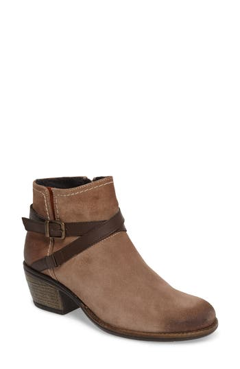 Bos. & Co. Greenville Waterproof Bootie - Beige