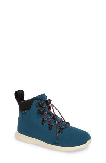 Toddler Girl's Native Shoes Ap Apex Junior Sneaker Boot, Size 1 M - Blue