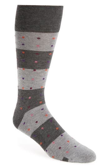 Men's Nordstrom Men's Shop Dot Block Socks