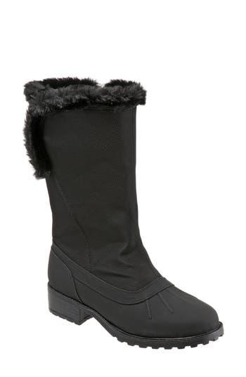 Trotters Bowen Waterproof Boot, Black