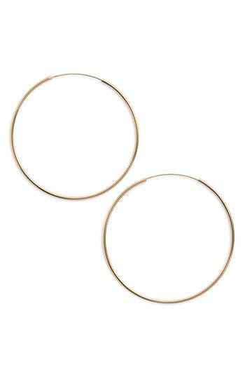 Women's Argento Vivo Endless Extra Large Hoop Earrings