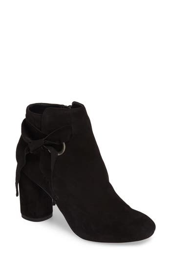Sole Society Zella Knotted Bootie, Black