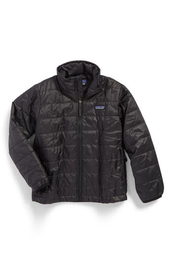 Boy's Patagonia Nano Puff Water Repellent Primaloft Insulated Jacket