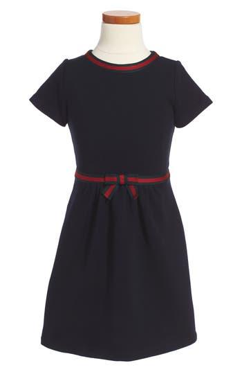 Girl's Gucci Stripe A-Line Dress