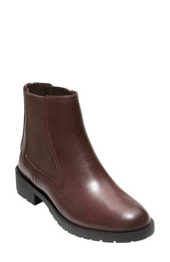 Cole Haan Stanton Weatherproof Chelsea Boot B - Brown