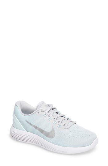 Women's Nike Lunarglide 9 Running Shoe, Size 5.5 M - Grey