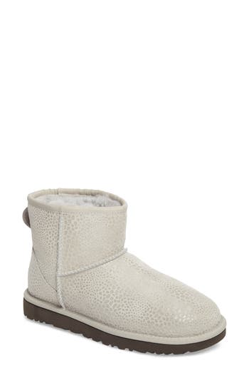 Ugg Mini Glitzy Boot, Grey