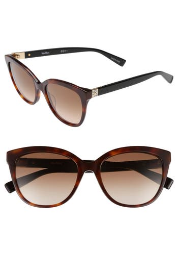 Women's Max Mara Tile 55Mm Cat Eye Sunglasses -