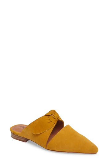 Jeffrey Campbell Charlin Bow Mule, Yellow