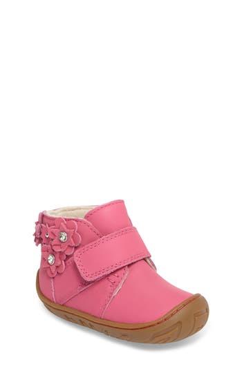 Infant Girl's Ugg Jorgen Petal Embellished Bootie, Size 4 M - Pink