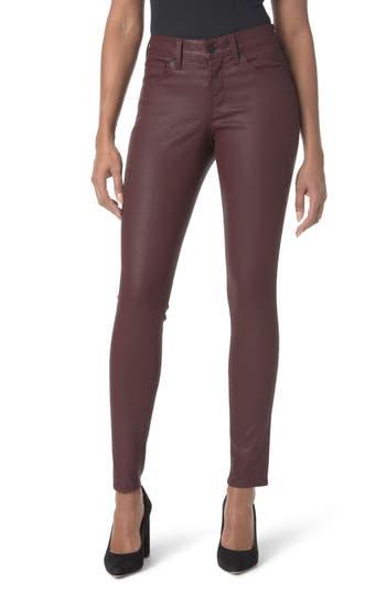Petite Women's Nydj Coated Stretch Skinny Jeans