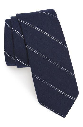 1960s Men's Ties | Skinny Ties, Slim Ties Mens Nordstrom Mens Shop Palamino Stripe Cotton  Linen Skinny Tie $23.70 AT vintagedancer.com